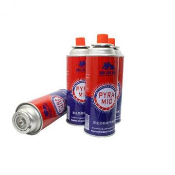 can cylinder, 220g High quality butane gas cartridge  cans
