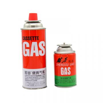 220g/190g/227g New type Cassette Butane Refill Gas Cartridge for Camping for Portable Stove