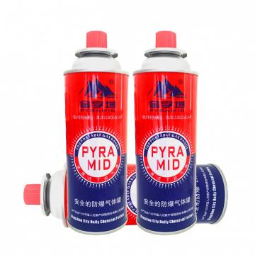 Explosion Proof tinplate Butane gas cartridge and butane gas can